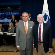 Bob Sloane and Secretary of Transportation Ray LaHood