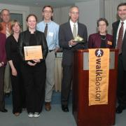 Golden Shoe Award recipients from MEPA Office