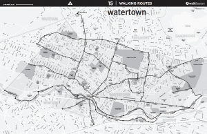 Watertown Map WalkBoston